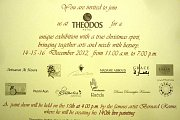 Christimas Art Exhibition at Theodos Hotel