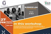 Business Law For Startups - From A to Z