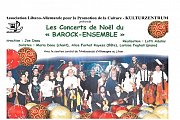 Concert de Noël - Barock Ensemble