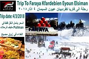 Trip to Faraya with T2 Taxi & Services