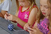 Kids Crocheting at Glamour Spirit