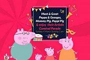 Meet & Greet Peppa Pig, Georges, Mami Pig, Papi Pig