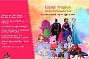 Easter with Barney, Peppa Pig, Sophia the Firts, Frozen, Olaf, Batman, Spiderman, Paw Patrol