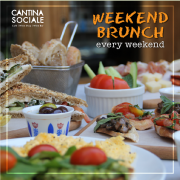 Weekend Brunch at Cantina Sociale