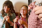 Kids Knitting Workshop at Glamour Spirit