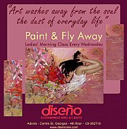 Paint and Fly Away at Diseño Workshop