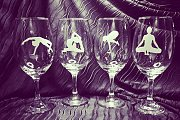 We Raise Our Glasses ~ in Yoga