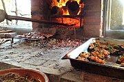 "The ""Fireplace Menu"" in Massaya"