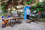 Badaro Pop-up Bike Station (Maintenance, Rental, Test Ride)