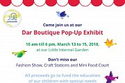 Dar Boutique Pop-Up Exhibit