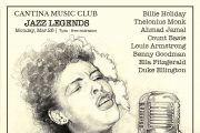 Cantina Music Club: Jazz Legends