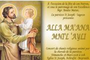 """ ALLA MA'ANA MNI'L 'AYLI"" Concert"