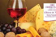 Cheese & Wine at Crowne Plaza