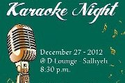 The LAU Alumni Association - Karaoke Night
