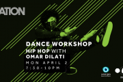 DANCE | Hip Hop Workshop w/ Omar Dilati