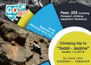 "This Sunday: Climbing Trip to ""Taaid - Jezzine"""