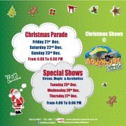 Adventure World Christmas Shows at Beirut Mall