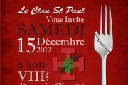 Dinner De Charité - Clan de St Paul Scouts