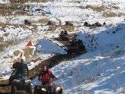 ATV RIDE (SNOW, WATER, MUD, GREAT SITES) with Skyline Team