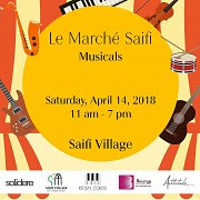 "Petals and Flutter at ""Le Marche Saifi Musicals"" in Saifi Village"