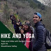 Hike and Yoga - Moukhtara Valley with Sarvam Yoga