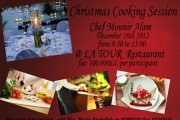 Christmas Live Show Cooking Session