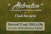 Abstraction de Chadi Daccache