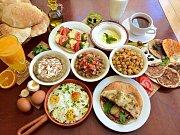 Traditional Lebanese Breakfast