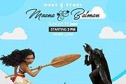 Meet & Greet Moana and Batman