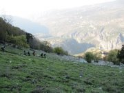 Hiking Jabal Moussa with Footprints Nature Club