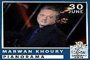 Pianorama by Marwan Khoury at Ghalboun International Festival