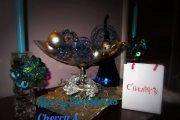 Cherry's mini Christmas exhibition by Hiba Kawoukji