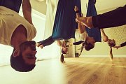 Aerial Yoga with John Karvelis