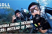 Discover Scuba Diving session  with photoshoot