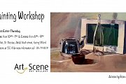 Painting workshop with Visual Artist Bernard Haddad