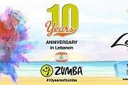 Zumba 10 Years Anniversary Lebanon