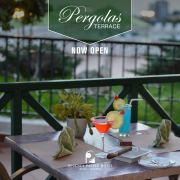 Regency Palace Hotel - Outdoor Pergolas meals