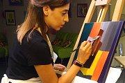 Colour Fusion Painting at Alwan Salma