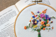 Embroidery with Alwan Salma