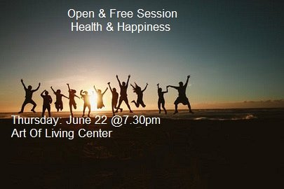 Happy Hour Health Happiness Lebtivity