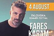 Fares Karam at Falougha Summer Festival