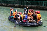 Rafting with DALE Corazon at ASSI RIVER