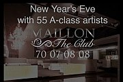 New Year's Eve at Maillon the Club with 55 A-class Artists