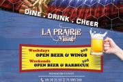 Open Wings & Beer - FIFA World Cup Screening at La Prairie Village