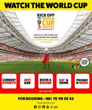 FIFA 2018 AT THE SMALLVILLE HOTEL BADARO