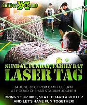 Guilbert Extreme Mobile Laser Tag Event