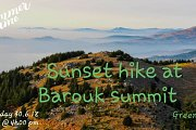 SUNSET HIKE at the Summit of Barouk Nature Reserve with Green Steps