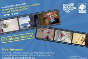Climbing Movie will be Shown at Go Up Climbing Club