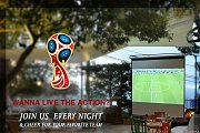 World Cup 2018 Live at Jneinet Printania Garden - Brummana