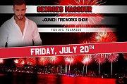 Jounieh Fireworks Show at Palapas Beach Resort